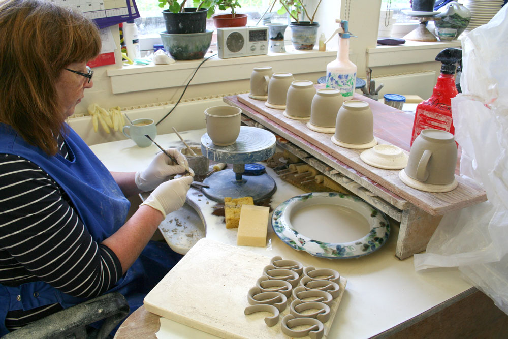 How It S Made Highland Stoneware